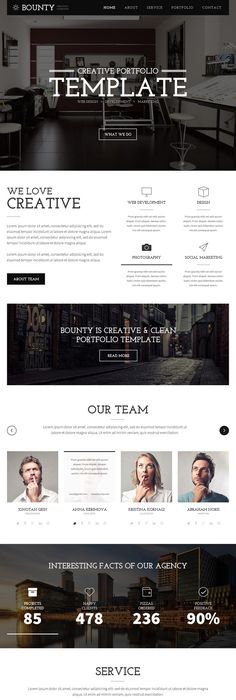 Online Resume Website Harmony Yoga Creative Psd Template  Psd Templates Template And .