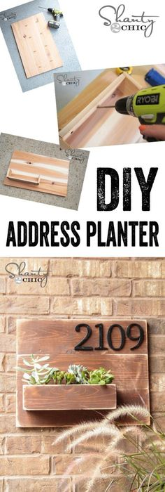 Easy diy address marker with a piece of edging and paint home turn your address number into an address planter cheap home decoraddress numberseasy diyplantersdiysplant solutioingenieria Choice Image