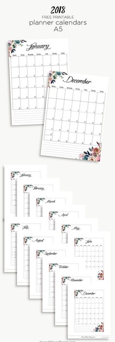 Free  Printable Calendar   Printable Calendar