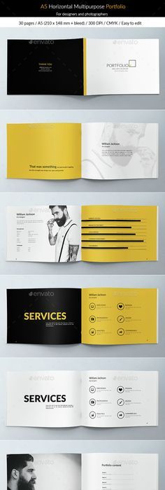 Corporate Multipurpose Business Portfolio Brochure Brochure
