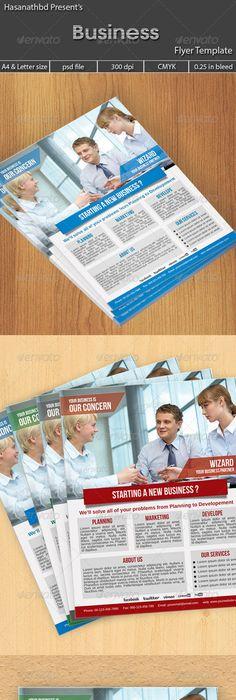 Social Media Flyer Volume 3 Business flyers, Business flyer - new business flyers