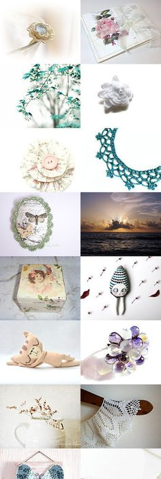 Simply Aqua By Tronell On Etsy Pinned With Treasurypin Https
