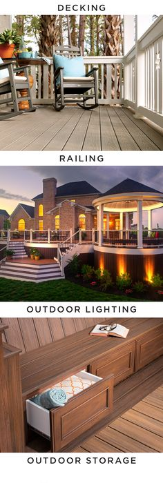 Deck out your backyard with a wide range of outdoor living solutions from trex