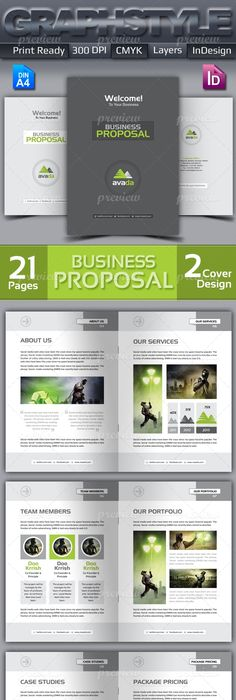 Generic Proposal  Full Business Proposal Template  Graphicriver