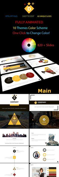 Business Lightness PowerPoint Template PowerPoint Templates