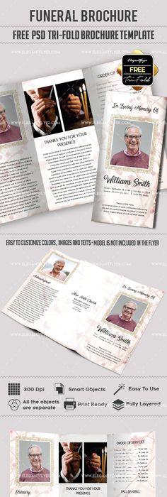 Free \u2013 Business Tri-Fold PSD Brochure Template Brochure template