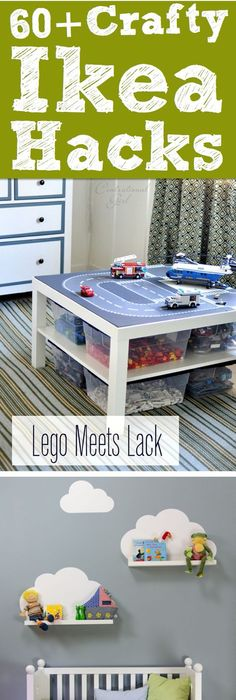 60+ Crafty Ikea Hacks To Help You Save Time And Money