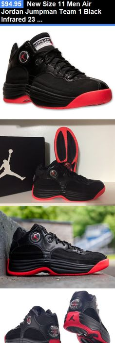 Basketball: New Size 11 Men Air Jordan Jumpman Team 1 Black Infrared 23  Basketball Shoe