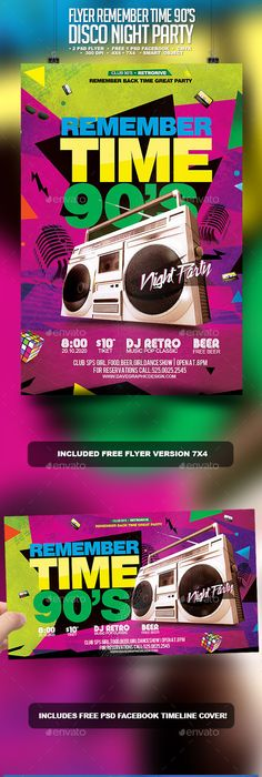 S Electro Music Flyer  Clubs  Parties Events  Graphic Design