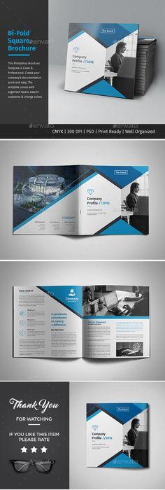 Company Profile Brochure  Indd Template  Brochure