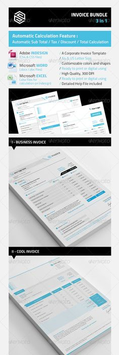 Vintage Invoice Template - Lotus Template and Typography