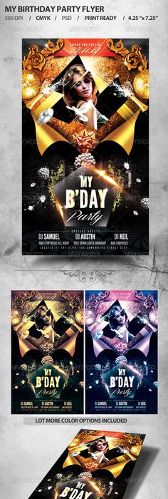 Multi Event Vintage Poster | Vintage posters, Flyer template and ...