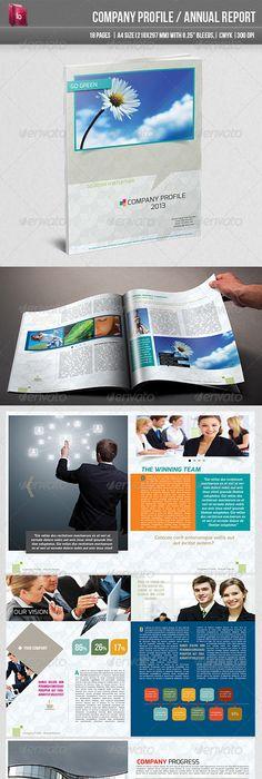 Professional Company Profile Template  Company Profile Template