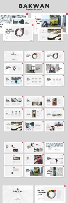 Free Booklet Template Ghost Minimal Powerpoint Template On Behance  Design Ppt .