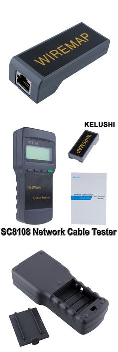 KELUSHI Portable Multifunction Wireless Network Tester Sc8108 LCD ...