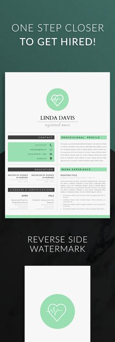 Nurse Resume Template for Word, Doctor Resume Template Nurse CV - free nursing resume templates