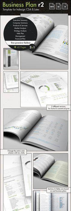 Professional Business Plan Template - A4 Portrait Business - professional business plan