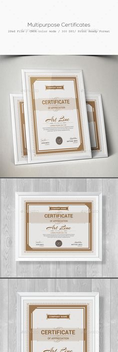 Free Psd Certificate Template  Design Templates  Freebies