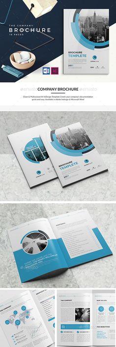 Cool Modern Brochure Designs  Brochures And Design Design