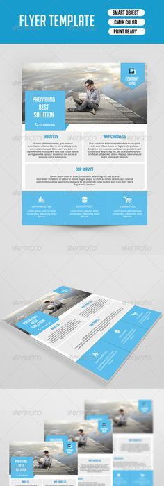 Business infographic  Corporate Flyer Template Flyer template