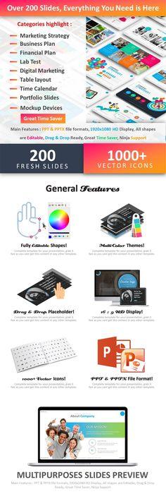 Ordenar - Multipurpose PowerPoint Template Business powerpoint