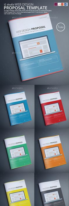 Web Proposal Template Proposal Templates Proposals And Template