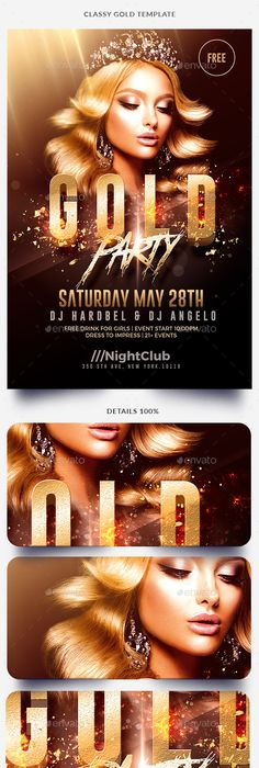 White Party Flyer Template  Party Flyer Flyer Template And Template