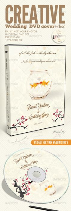 Wedding Dvd Cover Templates  Text Fonts Vector Format And Template