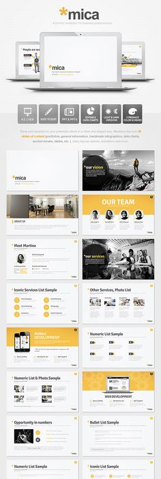 Simple Vision Powerpoint Presentation  Ppt    Ppt