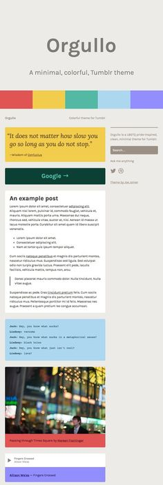 UltraFocus - Minimal \ Responsive Tumblr Theme Minimal, Graphic - fresh apiary blueprint examples