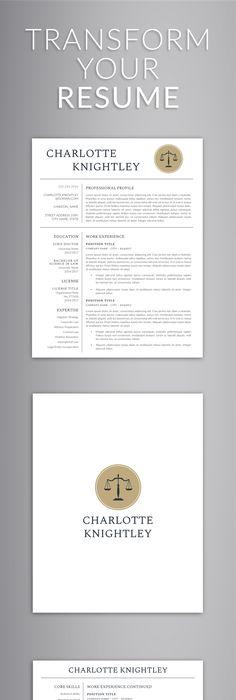 Architect Resume, Minimalist CV, ONE Page Resume, Professional ...