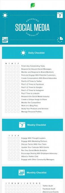 Free Small Business Social Media Calendar Template