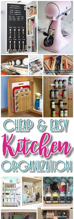 Exceptional EASY Budget Friendly Ways To Organize Your Kitchen {Quick Tips, Space  Saving Tricks, Clever Hacks U0026 Organizing Ideas} Pictures