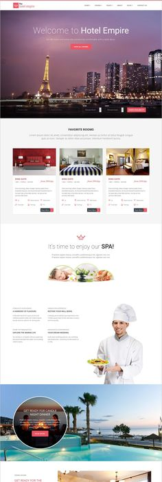 LYON – Luxury Hotel Booking HTML5 Template | Lyon, Template and Luxury