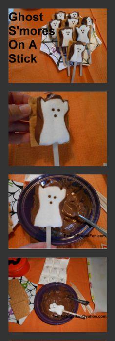Rice Krispy Ghosts! Perfect for kids Halloween Party ideas I\u0027m - fun halloween party ideas