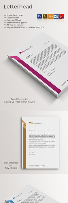 Letterhead Template Letterhead template, Template and Stationery - copy business letter format template with letterhead