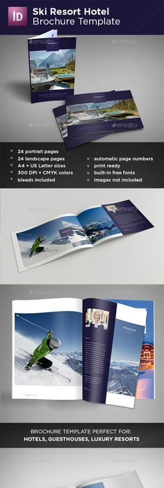 Hotel Brochure  Hotel Brochure Brochures And Brochure Template