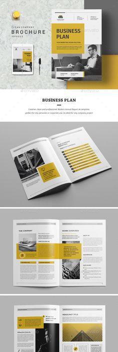Modern Business Plan PowerPoint Template Business Powerpoint - Business plan template design
