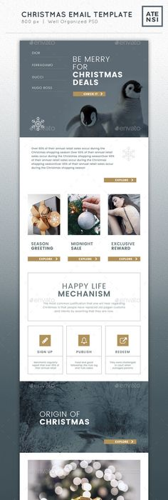 Anthropologie Newsletter Marketing Email Template  Email