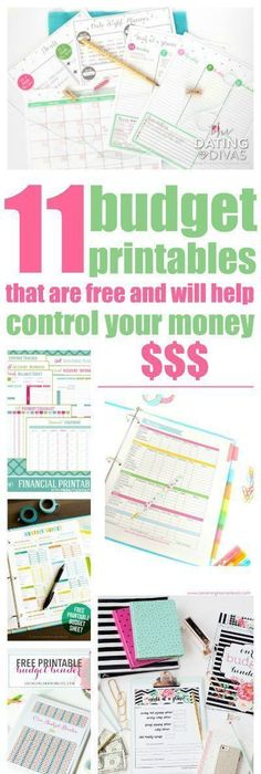 Stay organized and on top of your finances with this FREE monthly