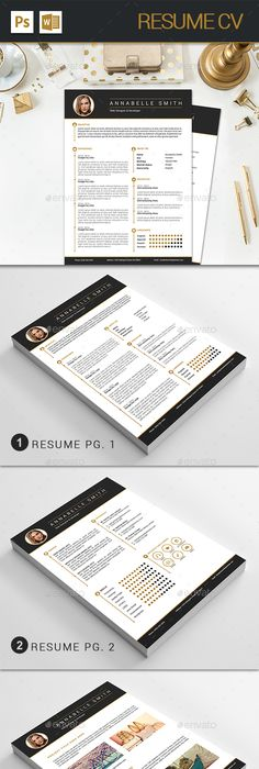 Resume Pinterest design, Template and Cv template - resume download