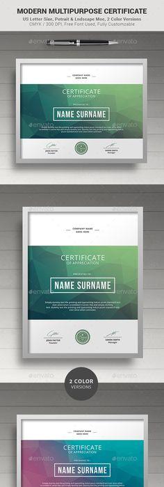 Certificat Gomtrique De Ralisation  Certificate Certificate
