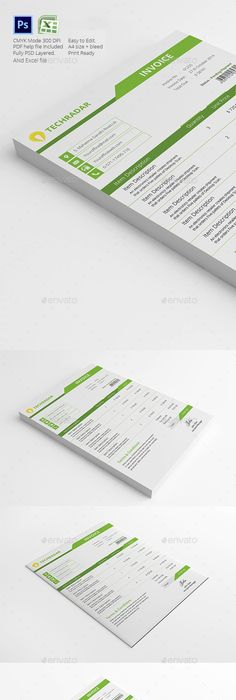 Gray  Black Invoice And Quote Template  Business