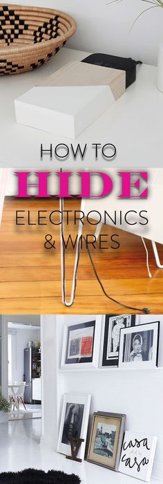 Here\'s How To Hide Your Router In The Chicest Way | Create, Easy ...