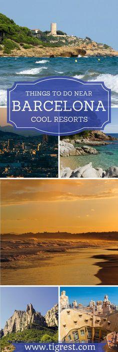 Best Beach Resorts Near Barcelona Salou And Sitges