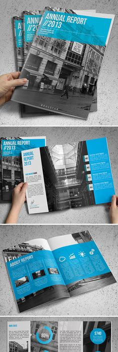 Annual Report  Annual Reports Template And Brochures