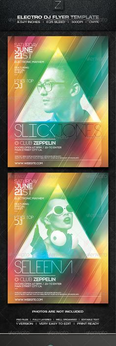 Explosive Party Flyer Template  Flyer Template Party Flyer And