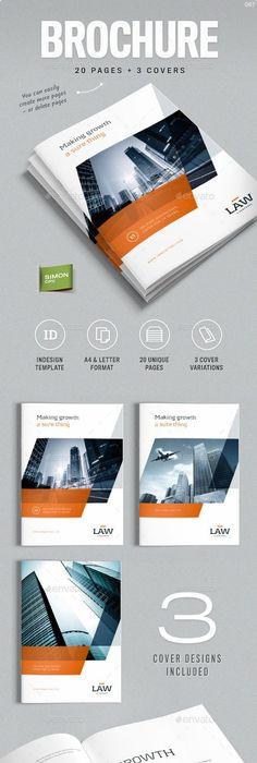 Company Profile - Landscape | Company profile design, Company ...