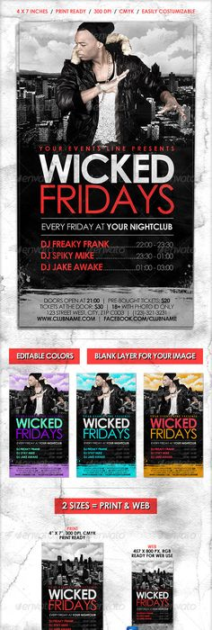 Release Me Party Flyer Party flyer, Flyer template and Event flyers