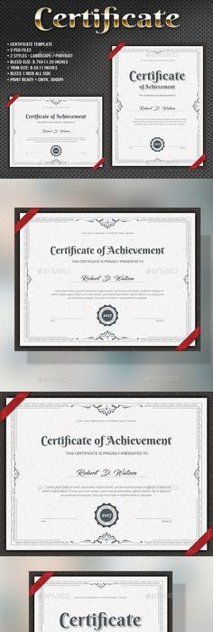 Modern Certificate Template  Certificate Template And Modern